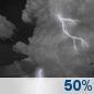 Tonight: Chance Showers And Thunderstorms